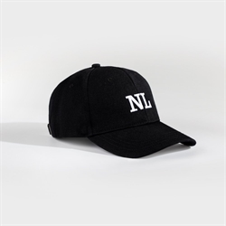 NL Dad Cap Black/White