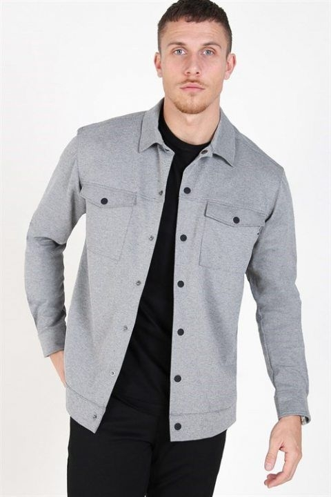 Only & Sons Comfort Overshirt Lt. G