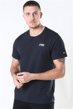 Tommy Jeans Corp Logo Tee Black