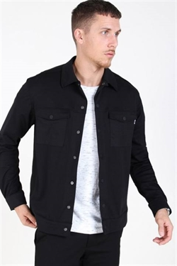 Only & Sons Comfort Overshirt Black