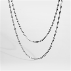 Northern Legacy Double Chain Silver