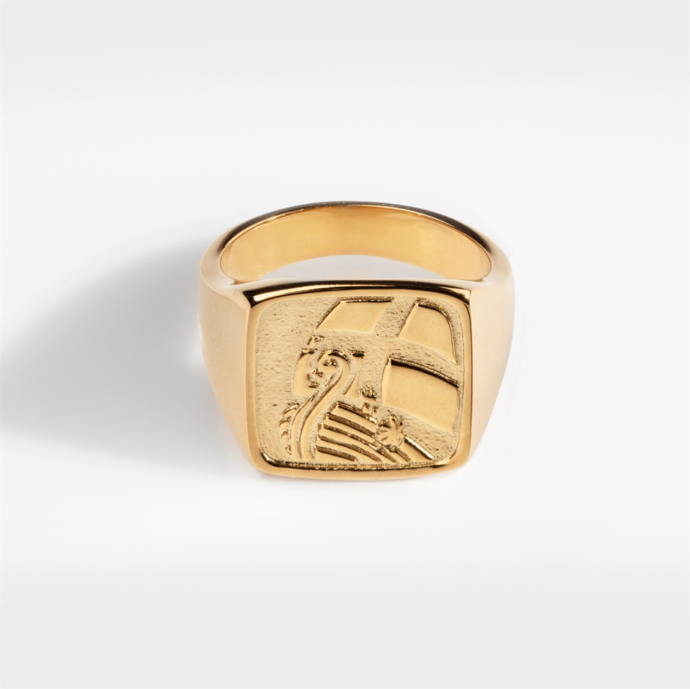 NL Explorer Oversize Ring Gold