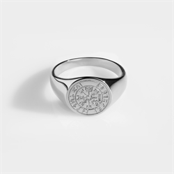 Northern Legacy Vegvisir Oval Silve
