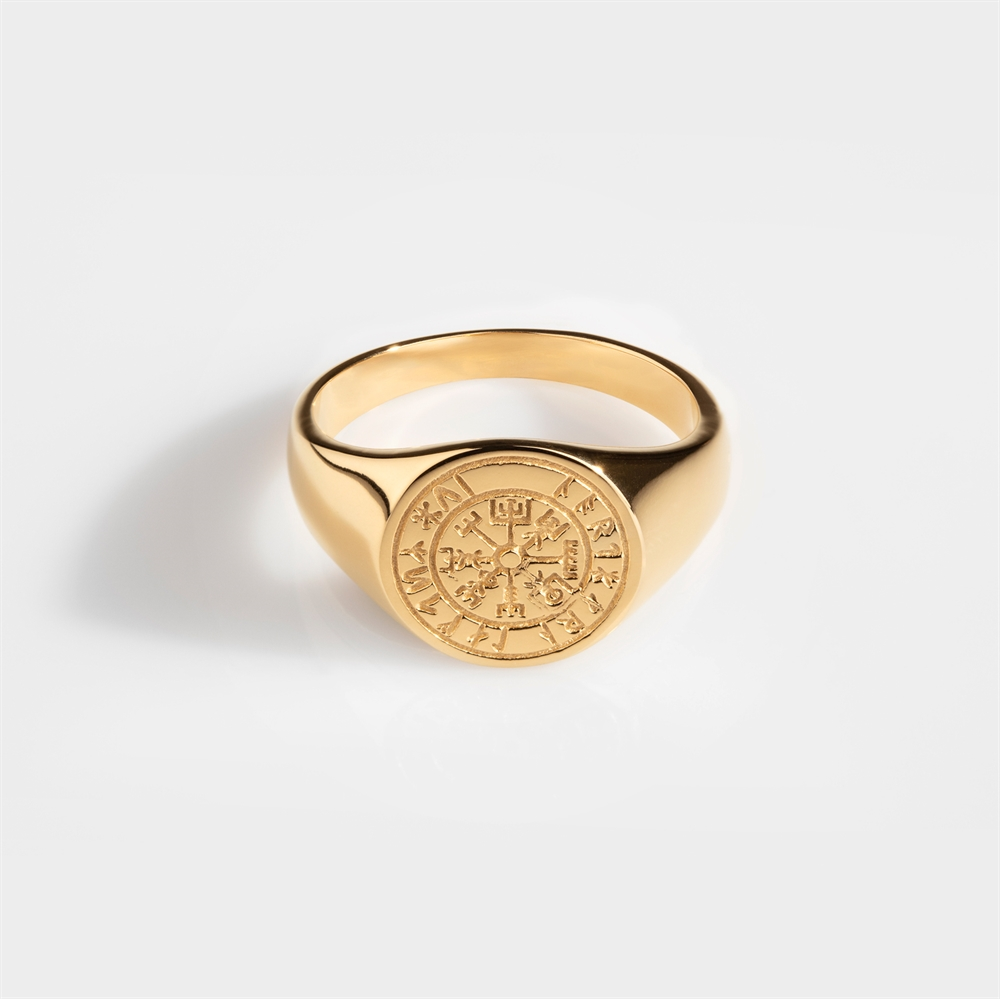 Northern Legacy Vegvisir Oval Gold