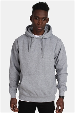 Basic Brand Hoodie Oxford Grey