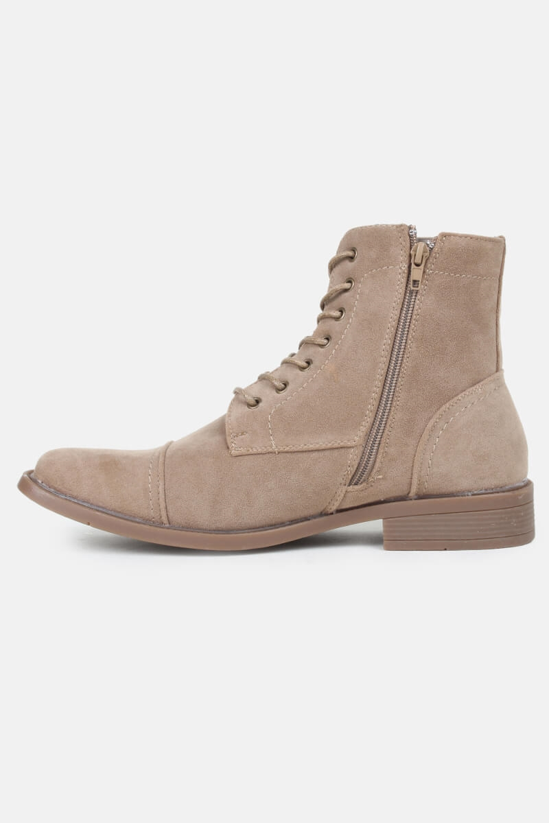 Coxx Boots Suede Taupe