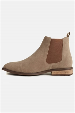 Coxx Chelsea Boots Suede Sand