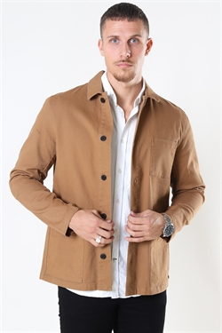 Clean Cut Lake Stretch LS Khaki