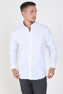 Clean Cut Oxford Plain White