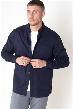 Clean Cut Pierre Overshirt Navy