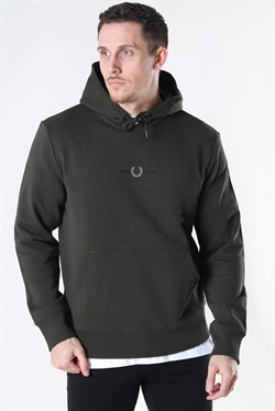 Fred Perry Embroid Hoodie Hunting G