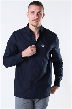 Fred Perry Oxford Skjorte Navy
