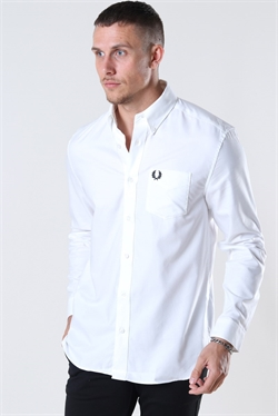 Fred Perry Oxford Skjorte White