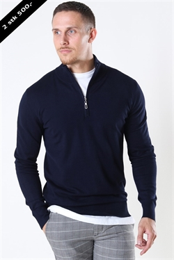 Jeff Argento Half Zip Navy