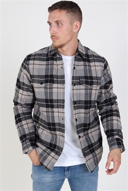 Just Junkies Ox Stripe Jacket Grey