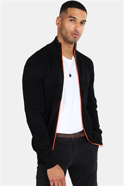 Kronstadt Jacob Zip Strik Black/Ora