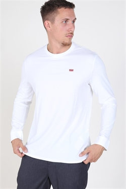Levi's LS Original Tee Patch White