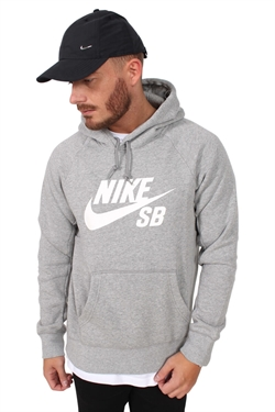 Nike SB Hoodie Long Dark Grey/White