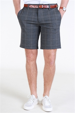 Only & Sons Mark Check Shorts Dk. G