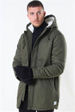 Only & Sons Yanick Teddy Hood Green