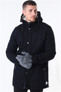 Only & Sons Yanick Teddy Hood Black