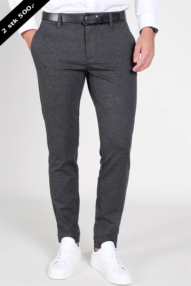 Only & Sons Mark Pants Dk. Grey