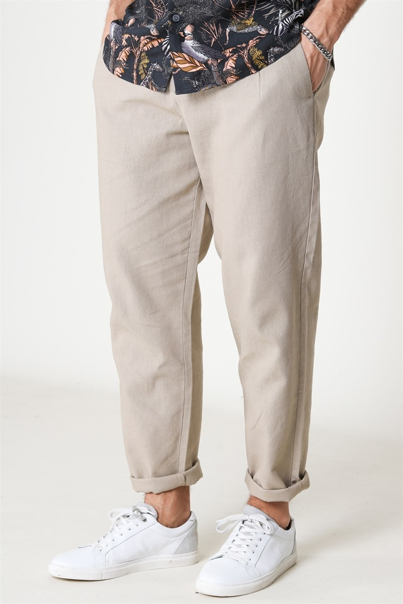 Only & Sons Leo Linen Mix Chinchill