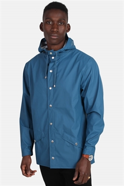 Rains Jacket Faded Blue