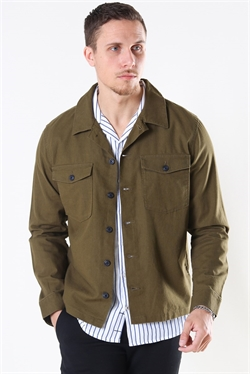 Selected East Linen Overshirt Dk. O