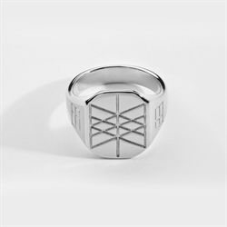 NL Web Of Wyrd Ring Silver