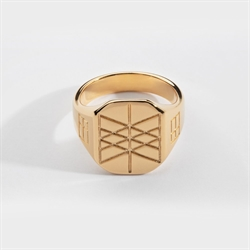 NL Web Of Wyrd Ring Gold