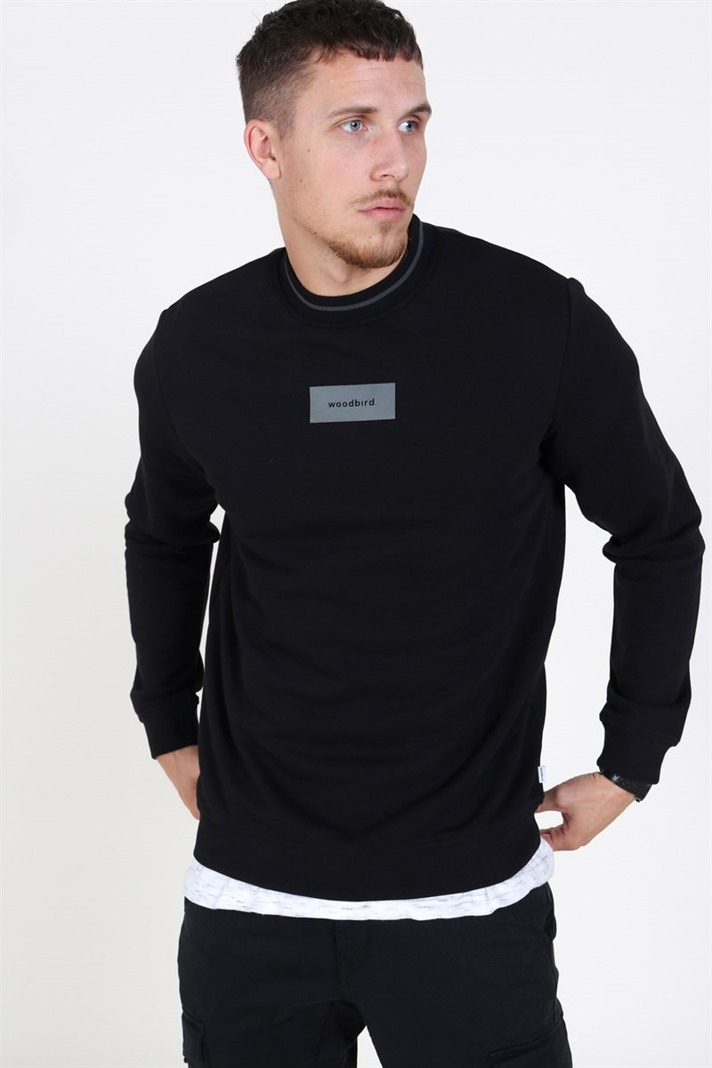 Woodbird Jayks Box Crew Black